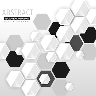Abstract clean geometric background