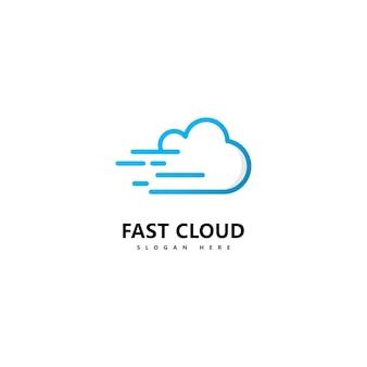 Abstract cloud logo icon vector template design