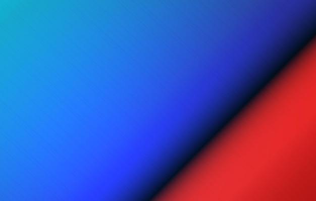 抽象的な色の背景磨かれた金属の広がり青と赤の丸い鋼の表面