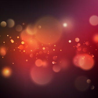 Abstract color bokeh background.
