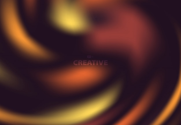 Abstract color splash design of autumn tone background.