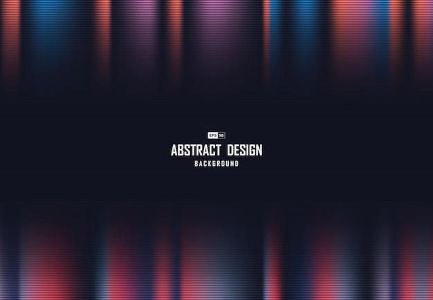 未来的なメッシュのアートワークポスターの背景の抽象的な色ハイテクデザイン。