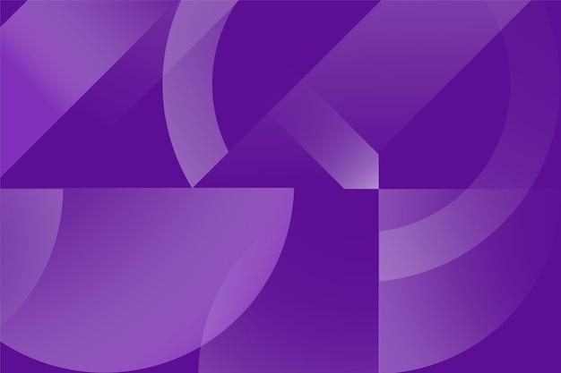 Абстрактный цветной фон из треугольников, кругов и линий
