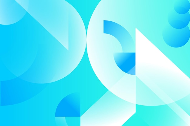 Abstract colored background from triangles circles and lines