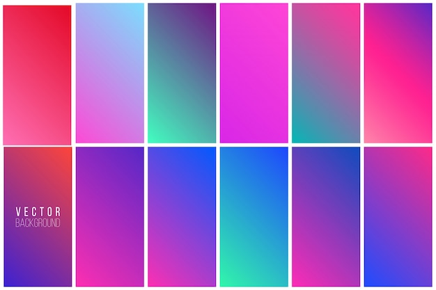 Abstract colorful background collection