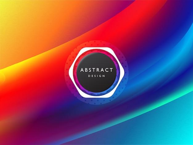 Концепция абстрактного красочный фон