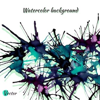 Abstract colorful background. splash watercolor background.