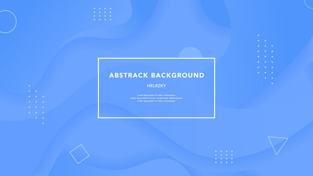 Abstract colorful background template