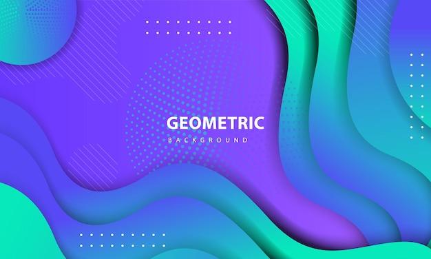 抽象的なカラフルな背景。ドット装飾が施されたテクスチャード幾何学的要素のデザイン。ランディングページ、バナー、ポスター、表紙などのデザインテンプレート01