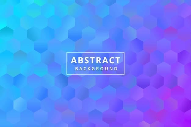 Абстрактные красочные фоновые обои с многоугольной формой многоугольника премиум векторы