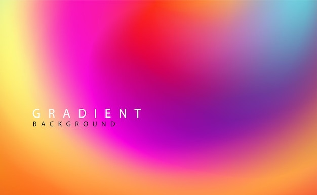 Abstract colorful blurred background for your website or presentation. soft minimal spectrum backdrop