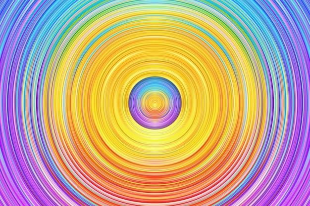 抽象的なカラフルな円の背景