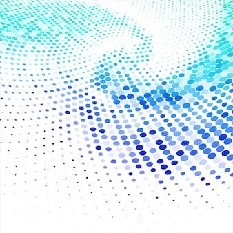 抽象的なカラフルな円形ハーフトーンの背景ベクトル
