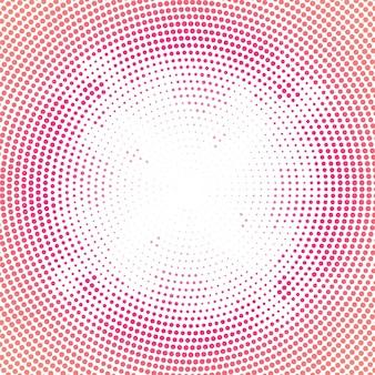 抽象的なカラフルな円形ハーフトーンの背景