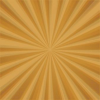 Абстрактный красочный комический фон с пунктирным дизайном