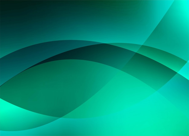 Abstract colorful creative wave background