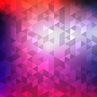 Abstract colorful geometric mosaic background
