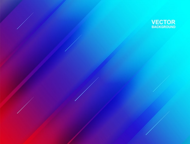 Abstract. colorful geometric shape overlap background.