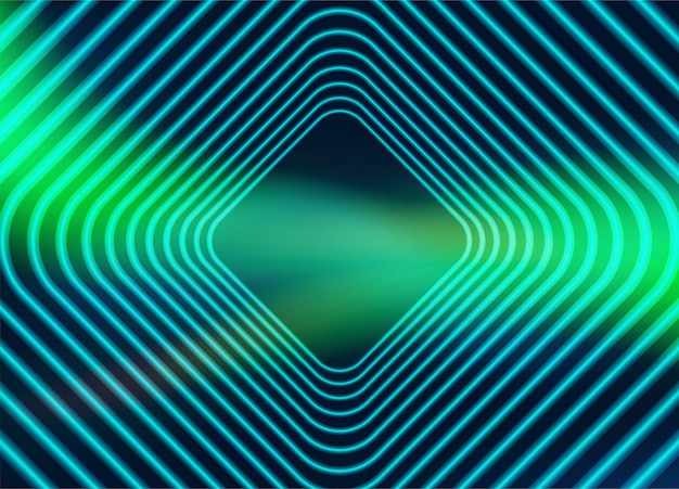 Abstract. colorful glow geometric shapes background