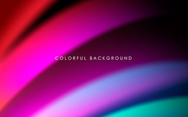 Abstract colorful gradient background smooth color