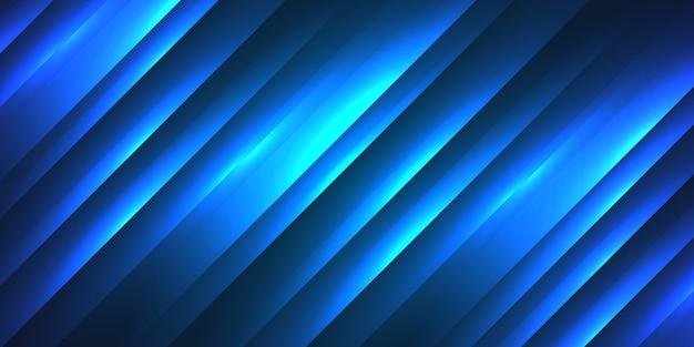 Абстрактный красочный градиент синий с полосой текстуры фона