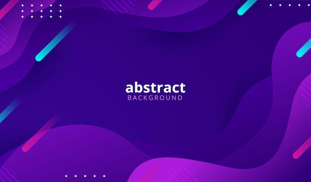 Abstract colorful gradient geometric shapes background