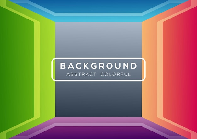 Abstract colorful gray rectangular shape background