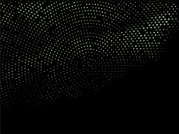 Abstract colorful halftone design dark background