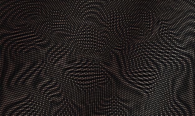 Абстрактные красочные полутоновые точки горизонтальные иллюстрации