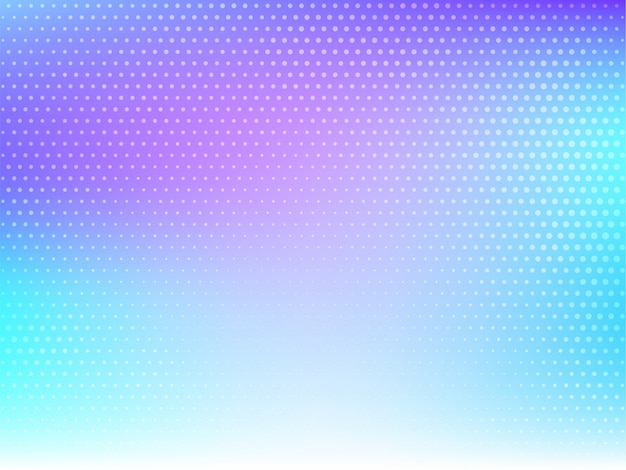 Abstract colorful halftone modern background vector