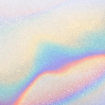 Abstract colorful iridescent background template