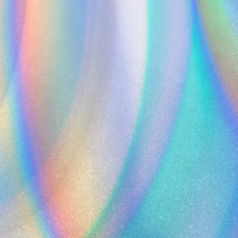 Abstract colorful iridescent background