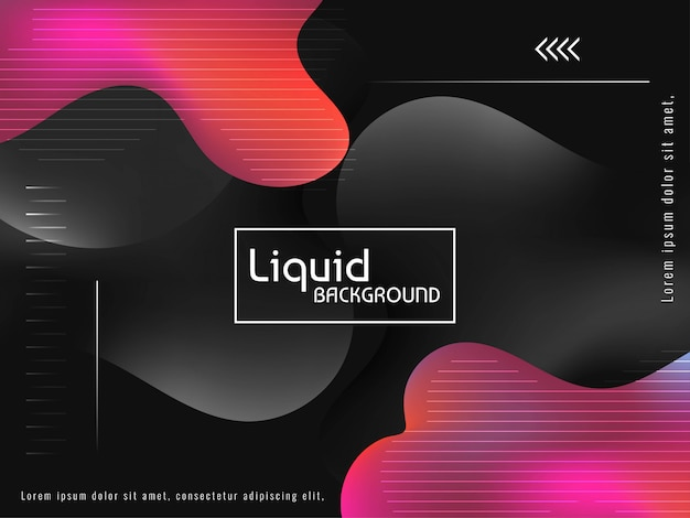 Abstract colorful liquid flow background
