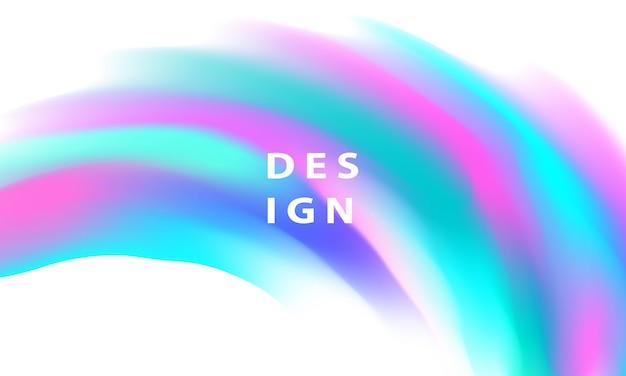 Абстрактный красочный жидкий градиент фона концепция экологии для вашего графического дизайна