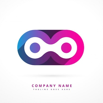 Abstract colorful logotype