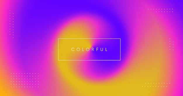 Abstract colorful modern background. spash of colors illustration. smooth iridescent gradient backdrop.