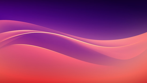 Abstract colorful multicolored wave background