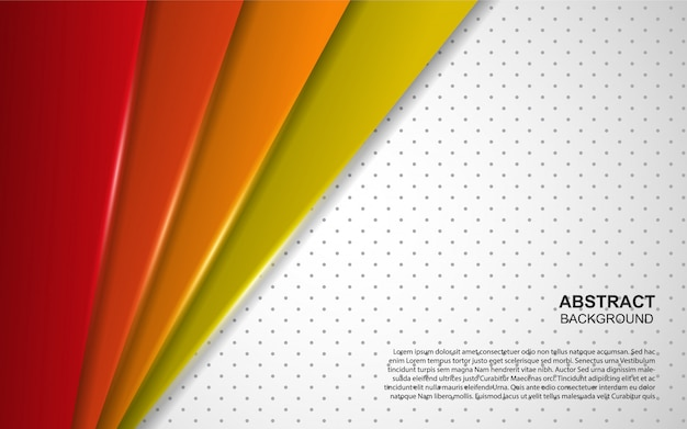 Abstract colorful overlap background