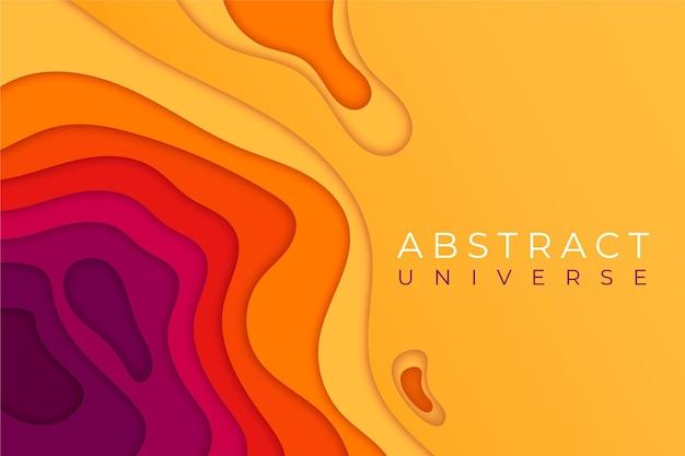 Абстрактный красочный фон в стиле бумаги