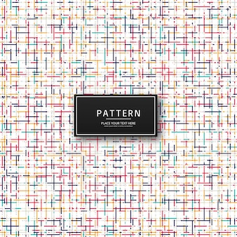 Abstract colorful pattern background illustration