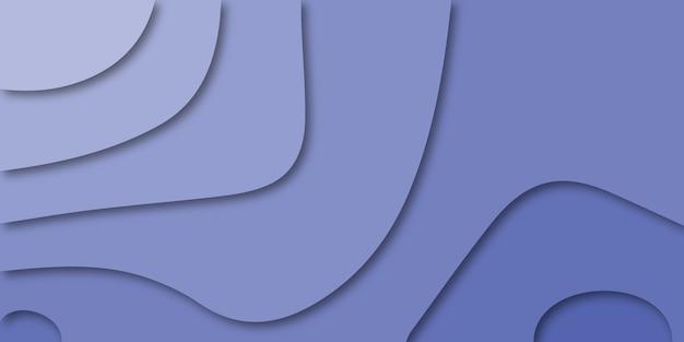 Абстрактный красочный фон кривой pueple.
