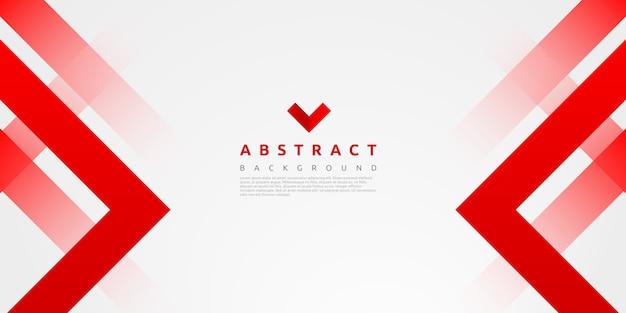 Абстрактный красочный красный геометрический фон формы
