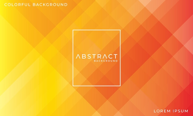 Abstract colorful red and yellow background