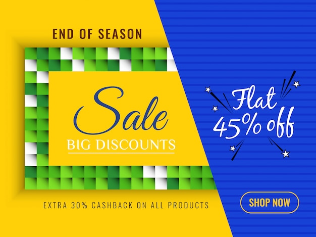 Abstract colorful sale background