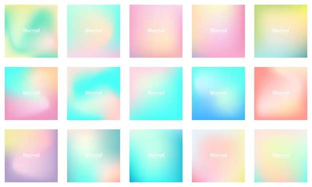 Abstract colorful smooth blurred  background