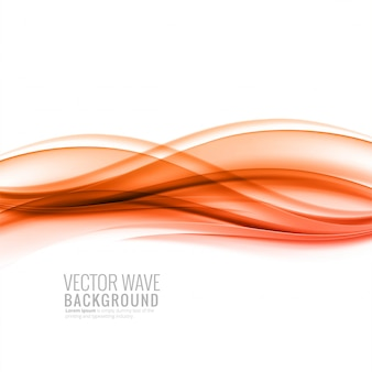 Abstract colorful smooth business wave background