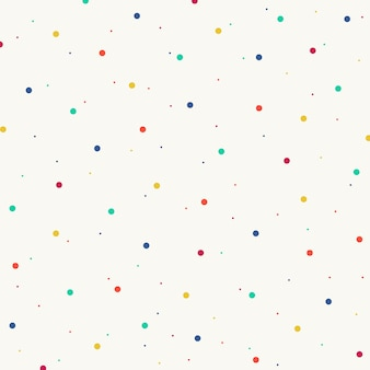 Abstract of colorful splash dot pattern background