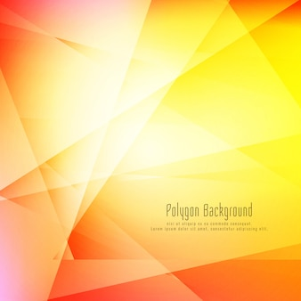 Abstract colorful stylish geometric background
