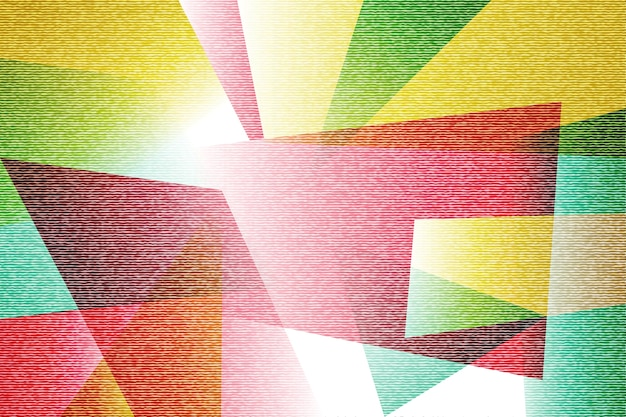 Abstract colorful texture polygonal background