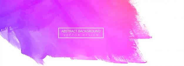Абстрактный красочный фон акварелью